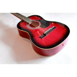 Hora Standard M3/4 Red Acoustic Guitar