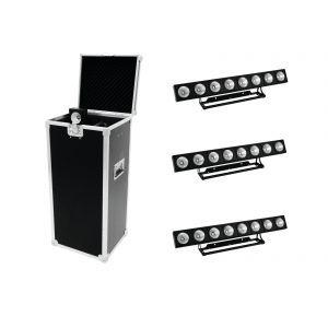 Eurolite LED PMB-8 COB RGB + case