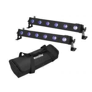 Eurolite LED BAR-6 QCL RGB+UV Bar + Cover