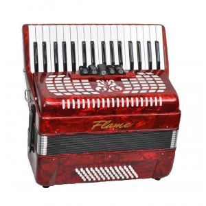 Acordeon Flame AC 34/60 RD