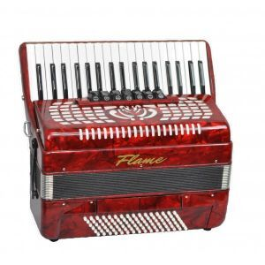 Acordeon Flame AC 37/96 RD