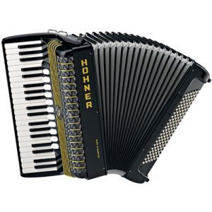 Acordeon Hohner Atlantic IV 120 Negru