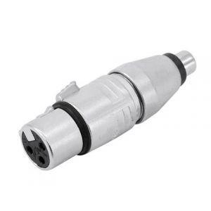Adaptor XLR 3 poli la RCA Neutrik NA2FPMF