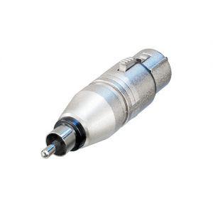Adaptor XLR 3 poli la RCA Neutrik NA2FPMM