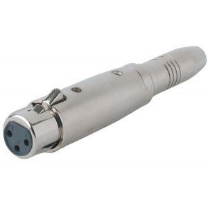 Adaptor XLR 3 poli Mama la Jack 6.3mm Stereo Mama Alpha Audio