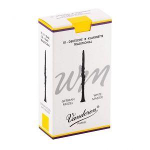 Ancie clarinet Vandoren Bb Allemand White Master Traditional 2.0 CR162T