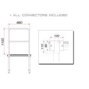 Balustrada Guil TMQ-01/440