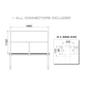 Balustrada Guil TMQ-02/440