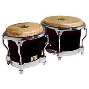 Bongo LP Percussion Fiberglass BK