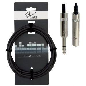 Cablu Alpha Audio Pro Line Jack6.35M - Jack6.35F 3m