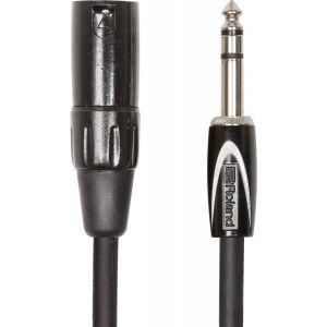 Cablu Audio Jack 6.3mm Stereo la XLR T Roland BS 1m