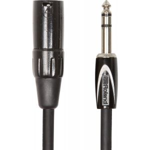 Cablu Audio Jack 6.3mm Stereo la XLR T Roland BS 3m