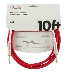 Cablu instrument Fender Original Instr. 10 Fiesta Red