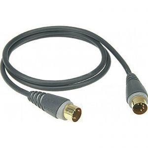 Cablu MIDI Klotz 1m DIN5 DIN5