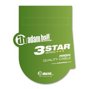 Cabluri Instrument Adam Hall K3 IPR 0600 jack 6.3 mono la jack 6.3 mono 90° 3m
