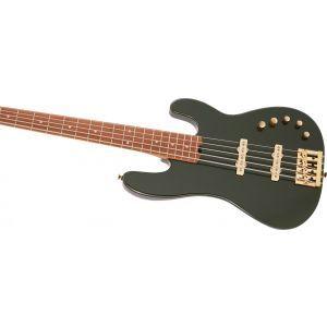 Charvel Pro-Mod San Dimas Bass JJ V Lambo Green Metallic