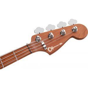 Charvel Pro-Mod San Dimas Bass PJ IV Lime Green Metallic