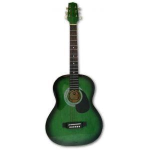 Hora Standard M 4/4 Green Acoustic Guitar