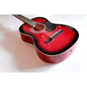 Chitara Acustica Hora Standard M3/4 Rosu Sunburst