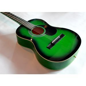 Hora Standard M3/4 Green Acoustic Guitar