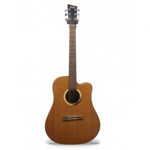 Hora W Mahogany Asymmetric 4/4 Acoustic Guitar