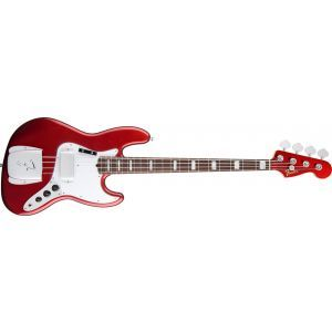 Chitara Bass Fender 50th Anniversary Jazz Bass Candy Apple Red