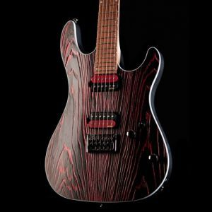 Cort KX 300 Etched Black Red