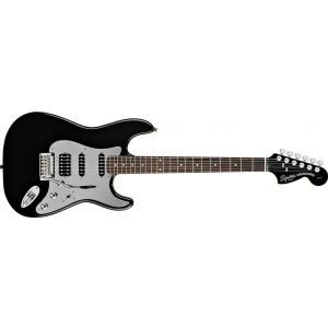 Chitara Electrica Squier Black&chrome Strat HSS