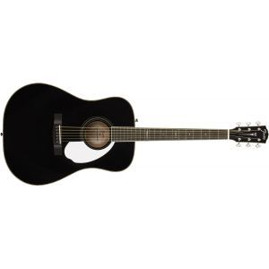 Chitara Electroacustica Fender PM-1E Dreadnought Ebony Black Very Limited