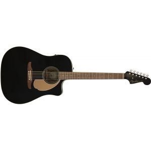 Chitara Electroacustica Fender Redondo Player Jetty Black