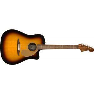 Chitara Electroacustica Fender Redondo Player Sunburst
