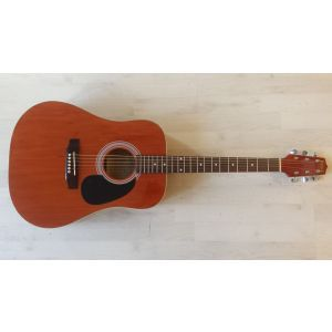 Hora W12204 4/4 Brown EQ Electro-Acoustic Guitar