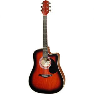 Hora Western Asymmetric 12204 EQ Electro-Acoustic Guitar