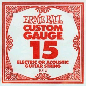 Ernie Ball Custom Gauge 15 1015
