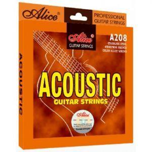 Corzi chitara acustica Alice A208-SL