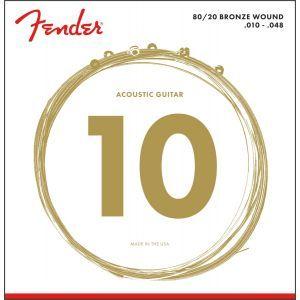 Fender 70XL Bronze 80/20 10-48