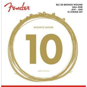 Fender 80/20 Bronze 70-12L 10-50