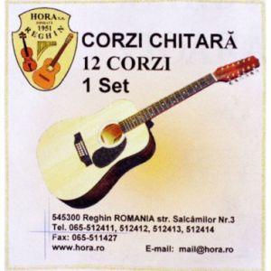 Corzi Chitara Acustica Hora Metal 12 Corzi