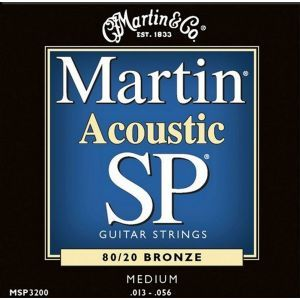 Corzi chitara acustica Martin and Co MSP 3200