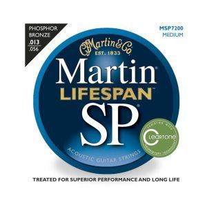 Corzi chitara acustica Martin and Co SP Lifespan MSP 7200