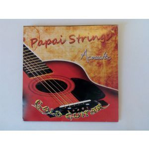 Corzi chitara acustica Papai Strings Gold Guitar
