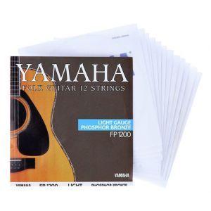 Corzi chitara acustica western Yamaha FP1200