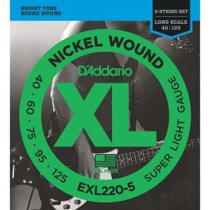 Corzi chitara Bass Daddario EXL220-5