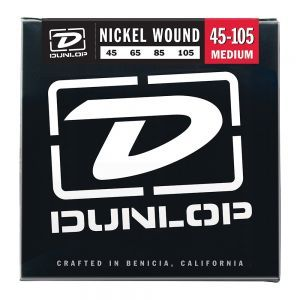 Corzi Chitara Bass Dunlop Nickel Wound Medium 45-105