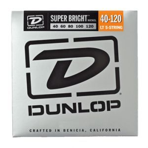Corzi Chitara Bass Dunlop Super Bright Nickel 5 40-120