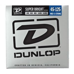 Corzi Chitara Bass Dunlop Super Bright Nickel 5 45 125