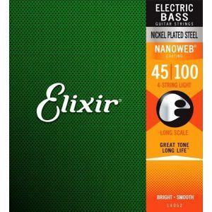 Elixir Nanoweb Long Scale 045 100 Seria 14052