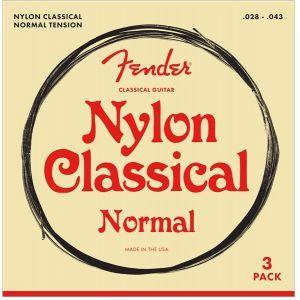 Fender 100 Classical Nylon Tie End 3 Pack