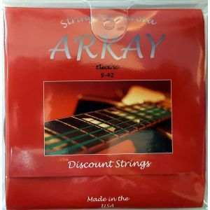 Corzi chitara electrica Aurora Arkay Electric 9-42 Red