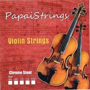 Corzi Vioara Chrome Papai Strings
